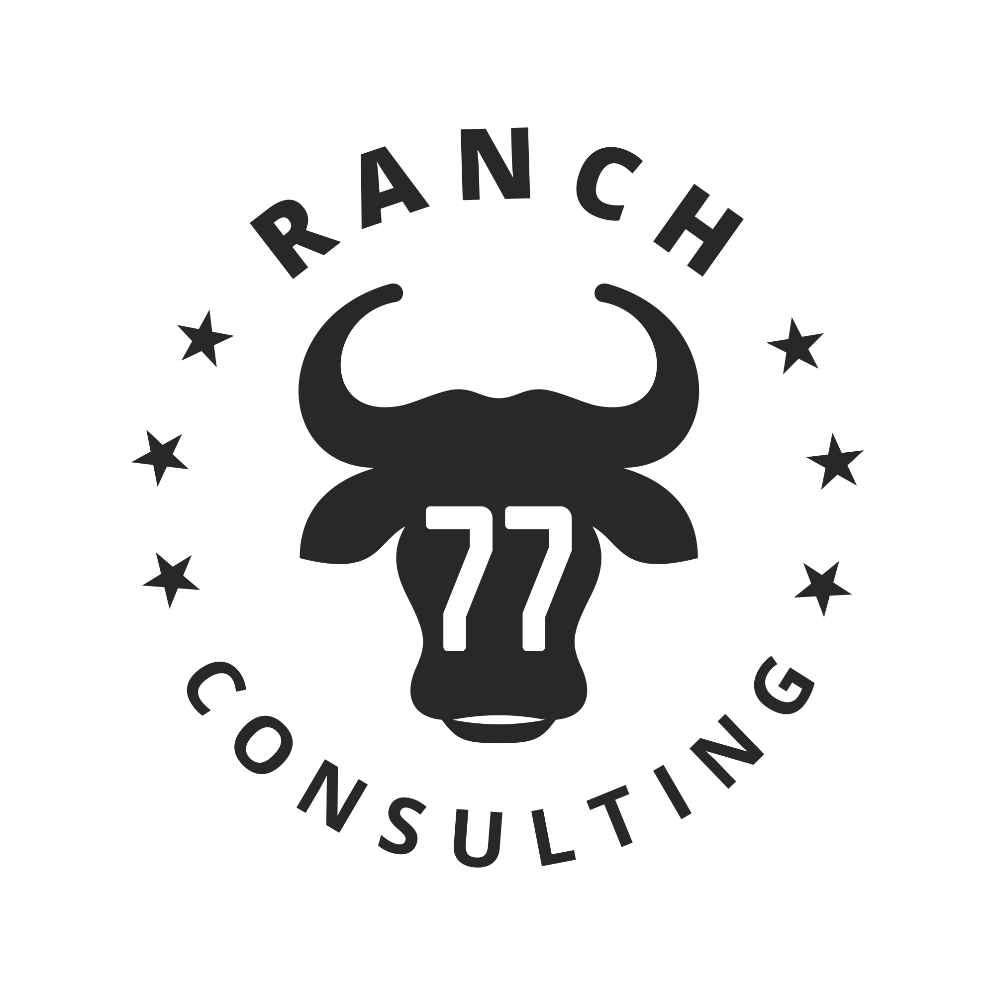 Craft a clean and crisp logo for an innovative consultant