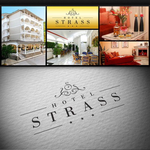 Hotel Strass logo project