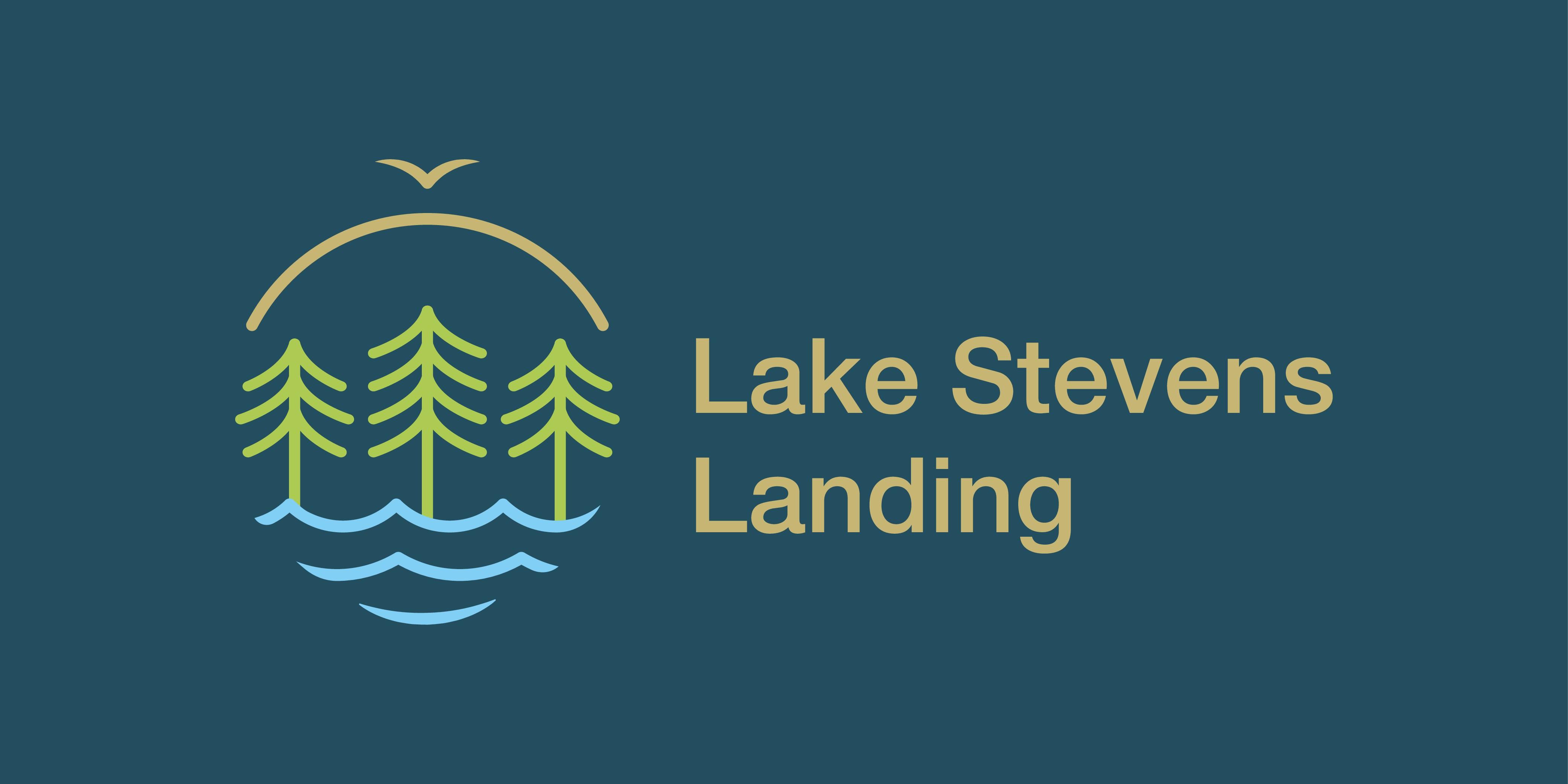 Logo for Lake Stevens Landing - New Commercial Real Estate Project