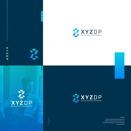 Logo Concept For architects and engineers XYZDP