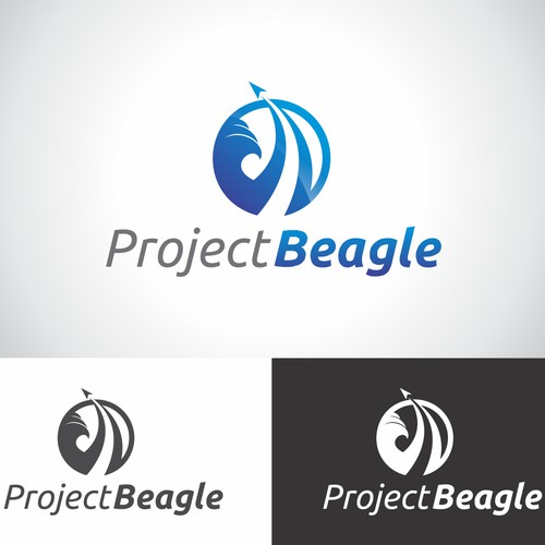 travel logo for project beagle