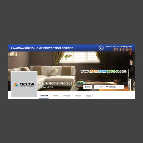 FB cover for Delta Home Protect