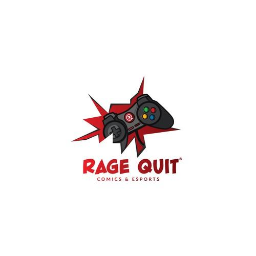 Comic and eSports Logo