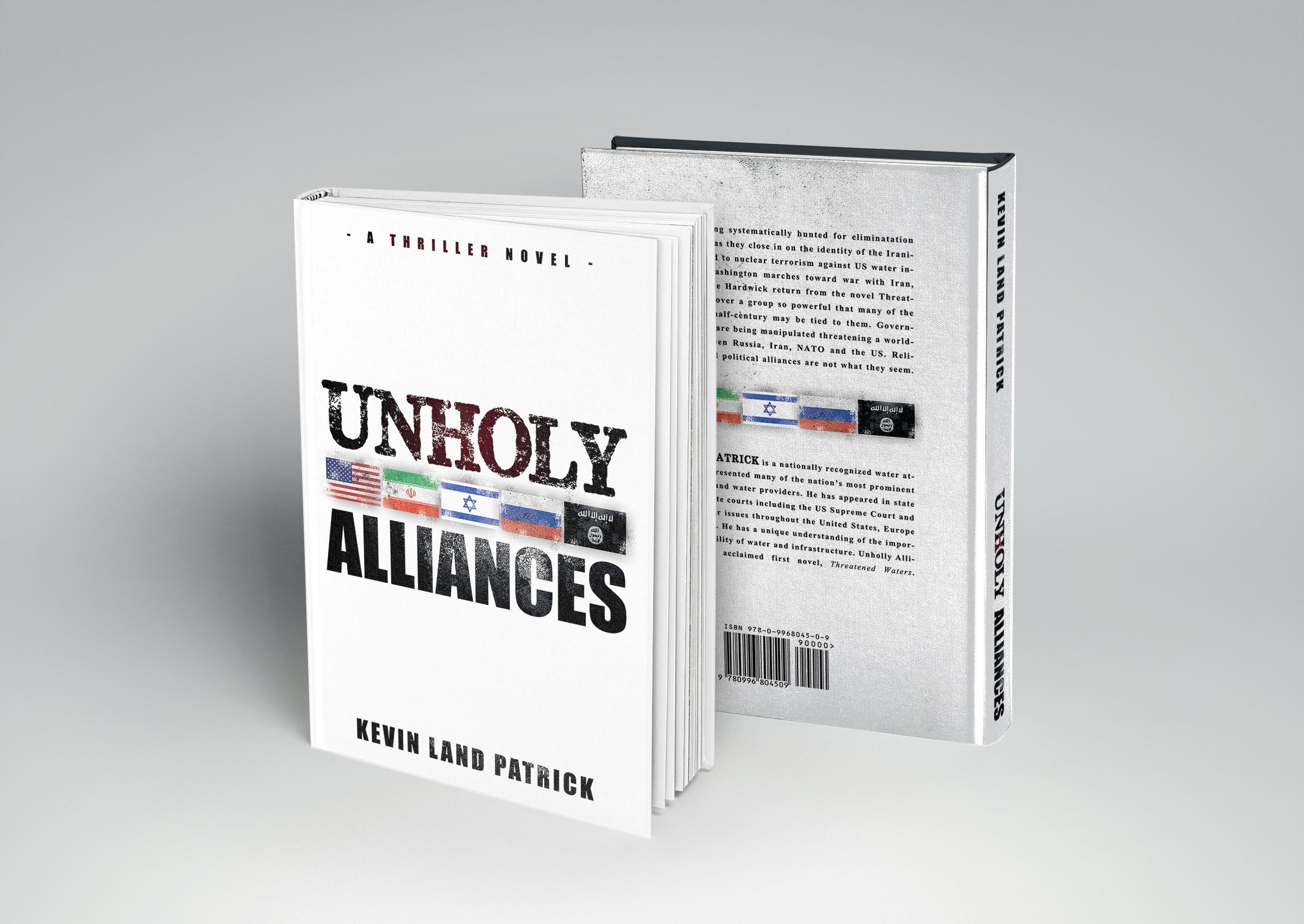 Unholy Alliances Book Cover Design