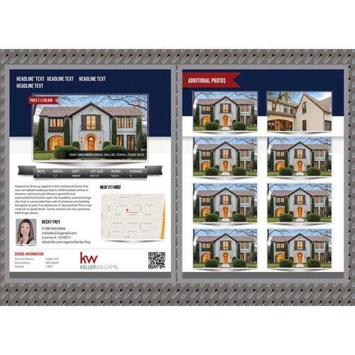 eFastinfo Property Brochure Flyer Design