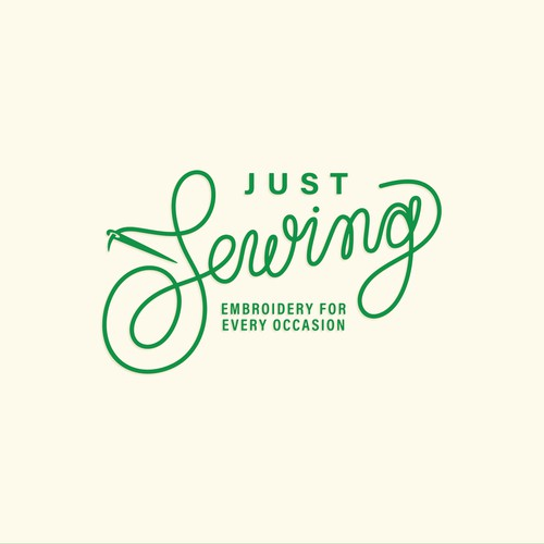 Just Sewing Logo