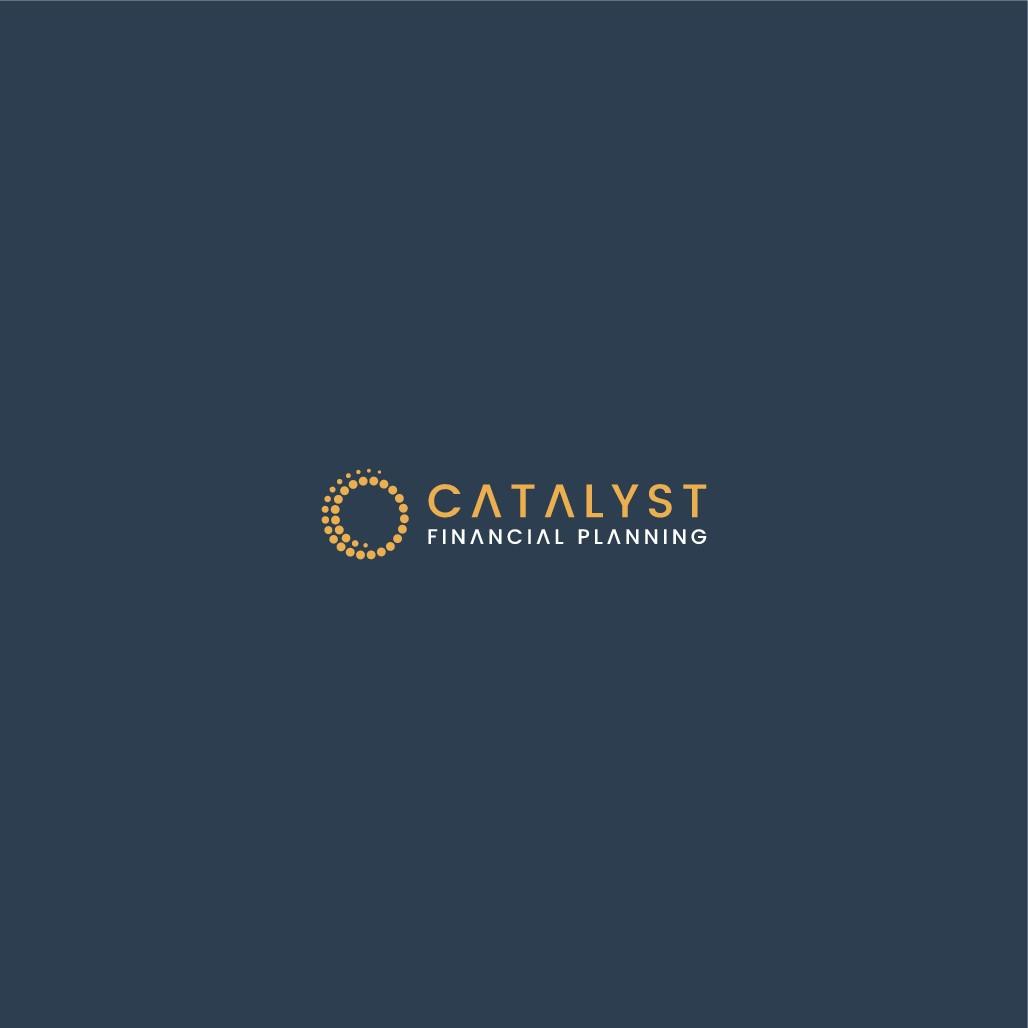 Design a minimalist logo for Catalyst Financial Planning