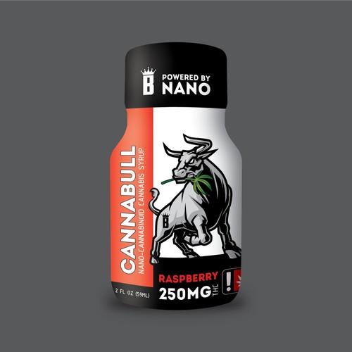 CANNABULL Nano-Cannabinoid Cannabis Syrup