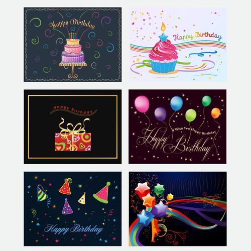Create cool birthday card designs!