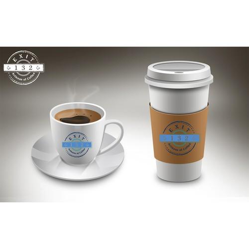 Coffee Cup Logo Mock-Up