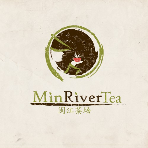 Min River Tea - Logo