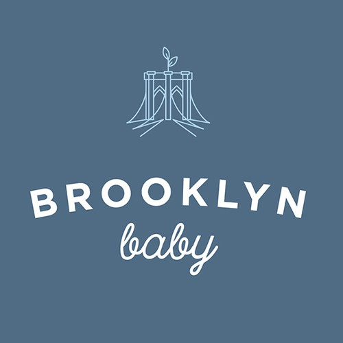 Hip & Urban Logo Design for Baby Company