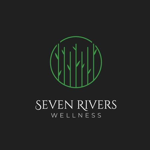 Logo for a luxury wellness property in the Caribbean