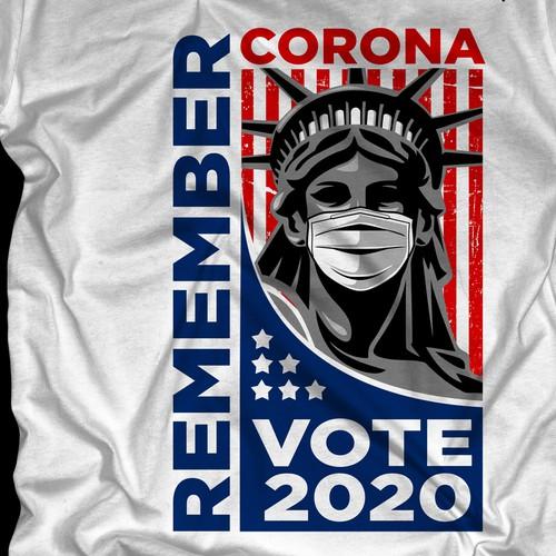 """Remember Corona """"Vote 2020"""""""