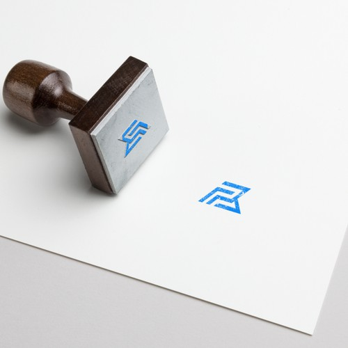 PB monogram logo concept