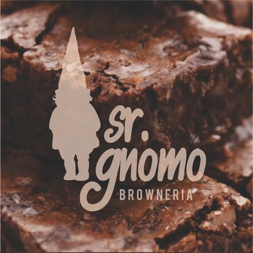 Logo design for a brownie shop