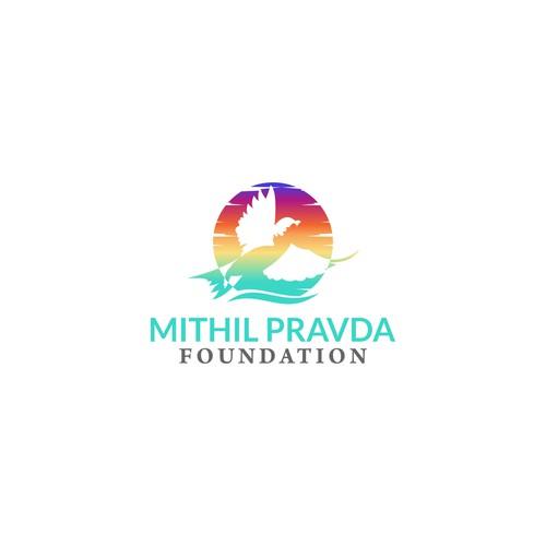 Logo Foundation for Mithil Pravda