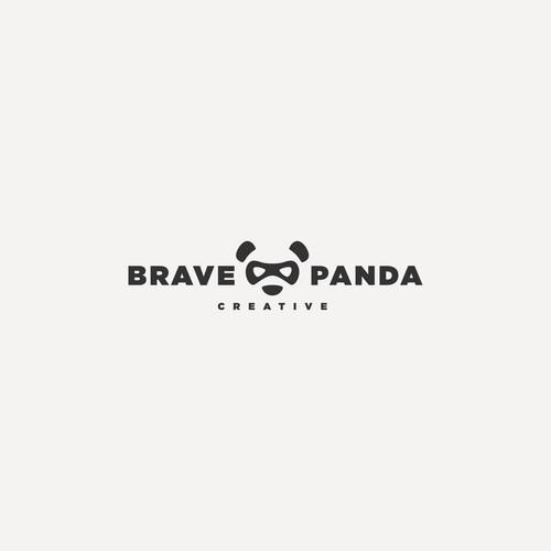 Brave Panda Logo