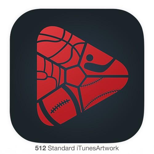 Icon higlight sport app