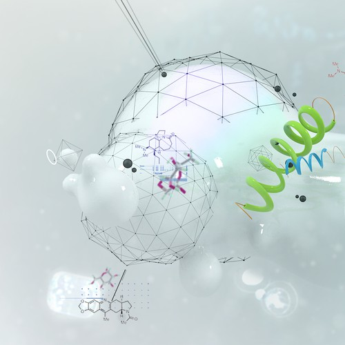 Illustration for a Biotech company