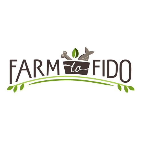 organic pet food logo