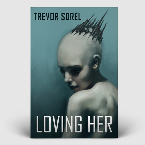 'Loving Her' Book Cover Design