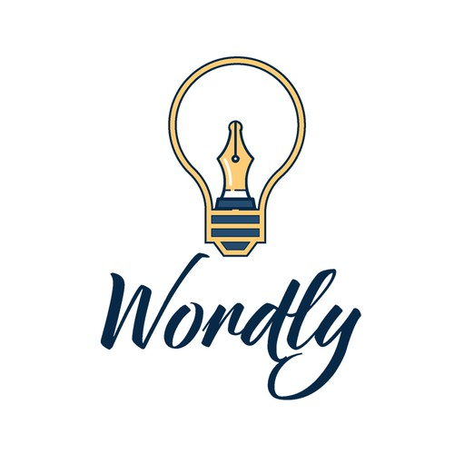 Logo concepr for Wordly