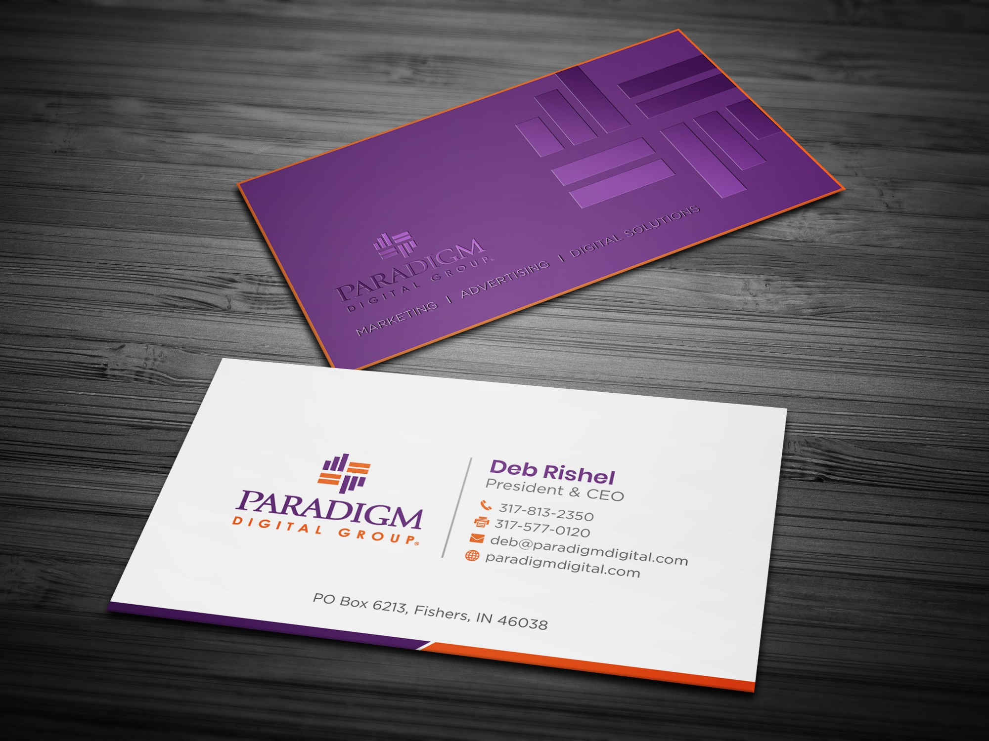 Business Cards for a Digital Marketing Agency **NO NEW DESIGNERS at moment**