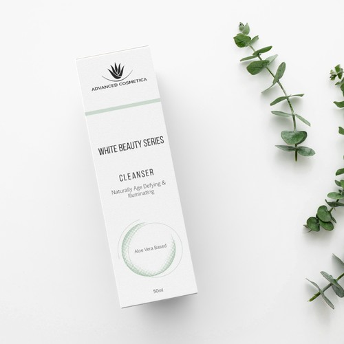 Skin Care Packaging design