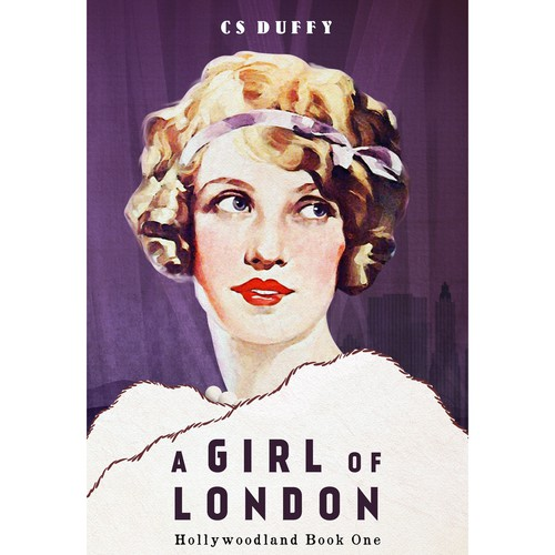Book cover for glitzy 1920s Hollywoodland series