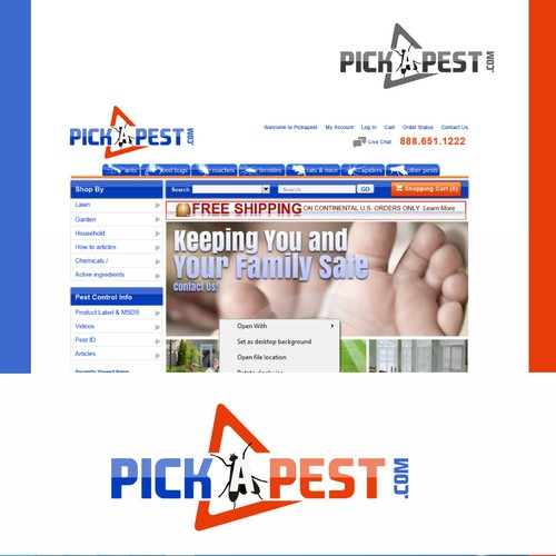 Help PICKAPEST.COM with a new logo