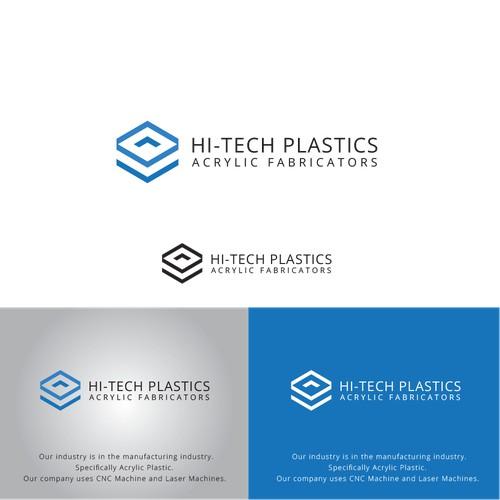 Logo for HI-TECH PLASTICS