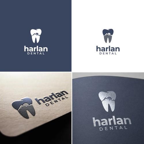 Logo design for Harlan Dental