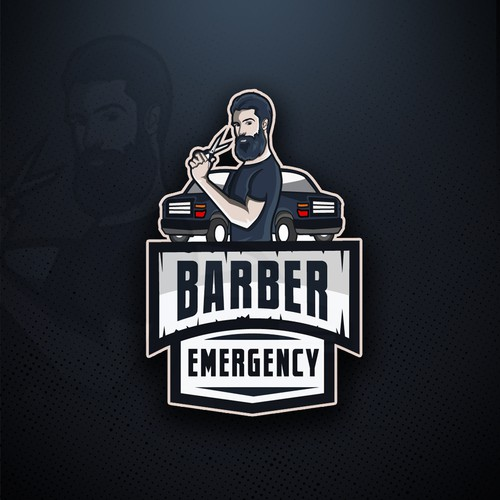 Logo design for Barber Emergency