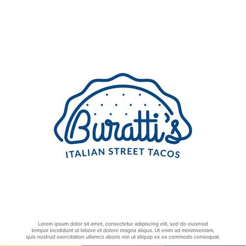 Logo concept for an Italian fusion restaurant