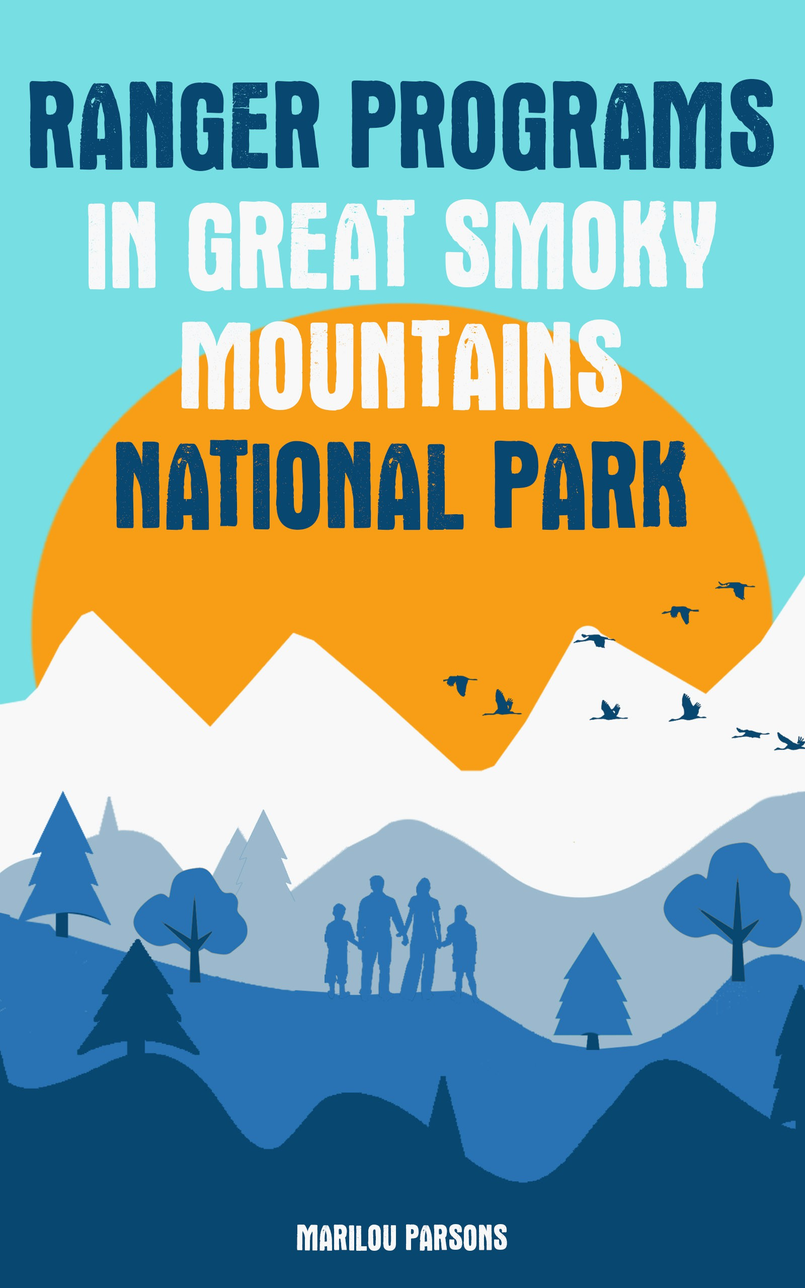 I need an ebook cover for a book pertaining to Great Smoky Mountains National Park.