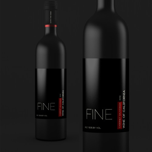 New product label wanted for Ultra Fine Wines