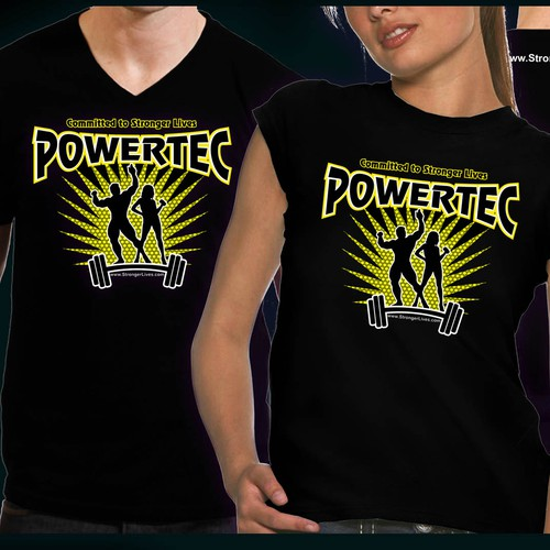 *GUARANTEED* Create the next t-shirt design for Powertec Fitness