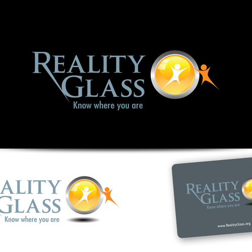 Reality Glass needs a new logo and business card