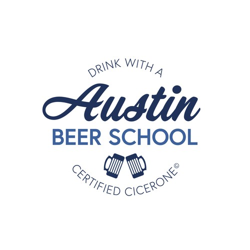 Austin Beer School Logo Concept