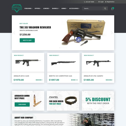 Emerald City Arms Homepage