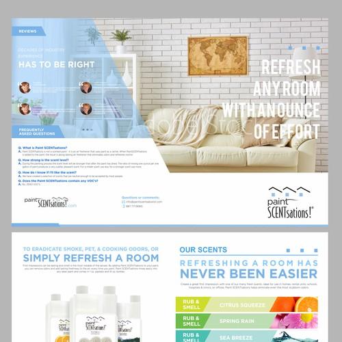 Fresh New Brochure - Paint SCENTsations