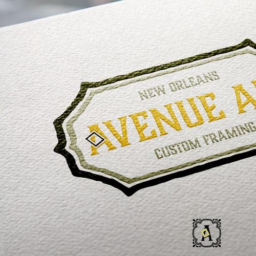 Re-Branding a custom frame shop and art gallery!