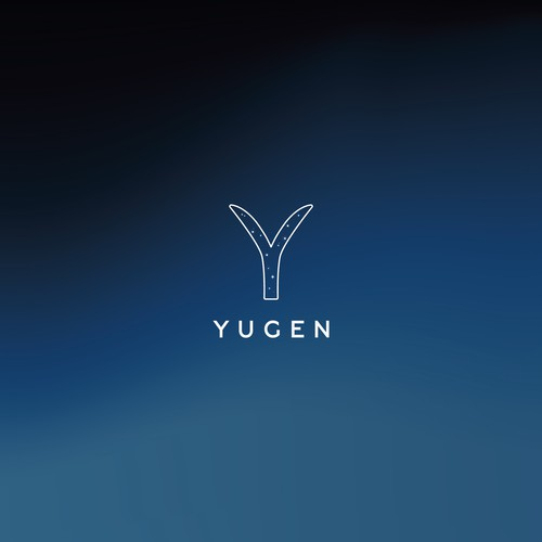 Dreamy logo design for Yugen architectural design