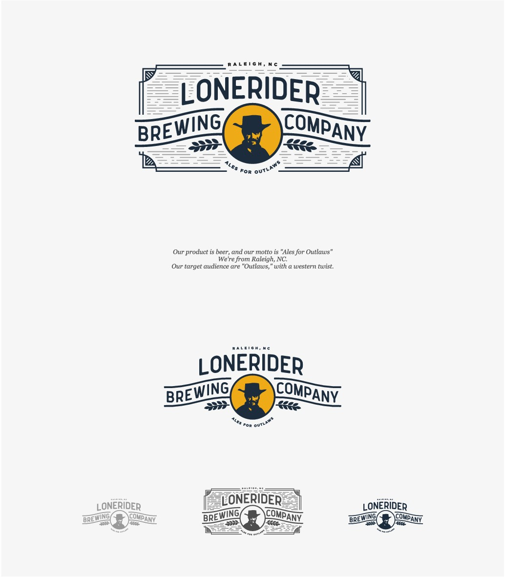 Lonerider Brewing Company Needs New Design for Outlaws