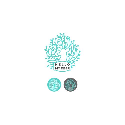 Whimsical logo for artisanal goods