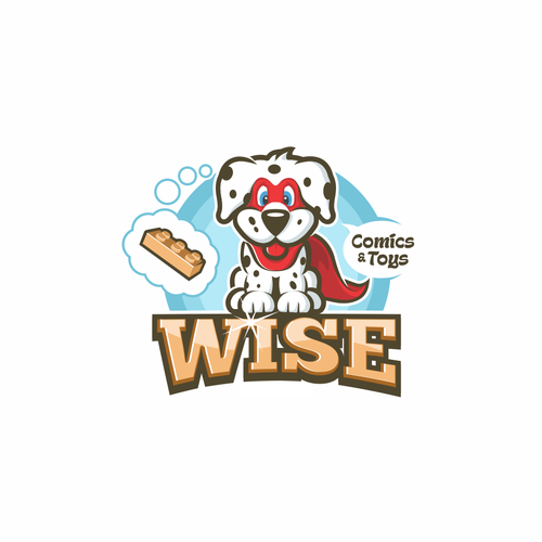 Logo Design for Comics and Toys Store
