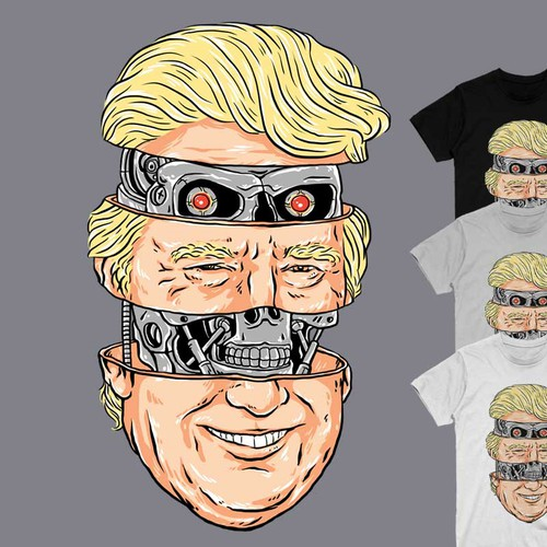 Donald Trump is a Terminator under the skin