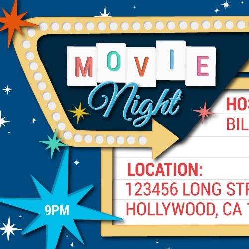 Online Oscar or Movie Night Invitation