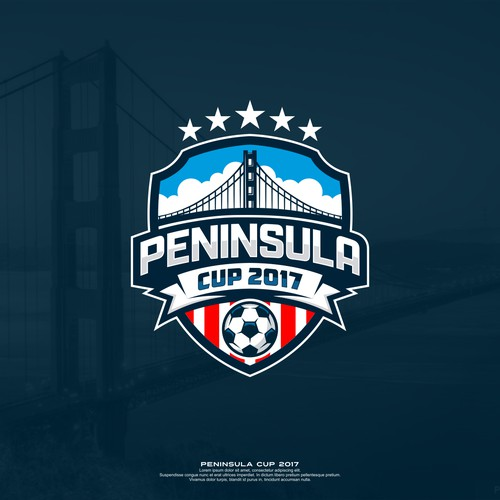 logo badge to club soccer tournament